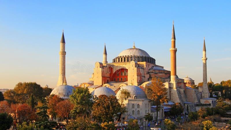 Hagia Sophia, Istanbul, Turkey royalty free stock photos