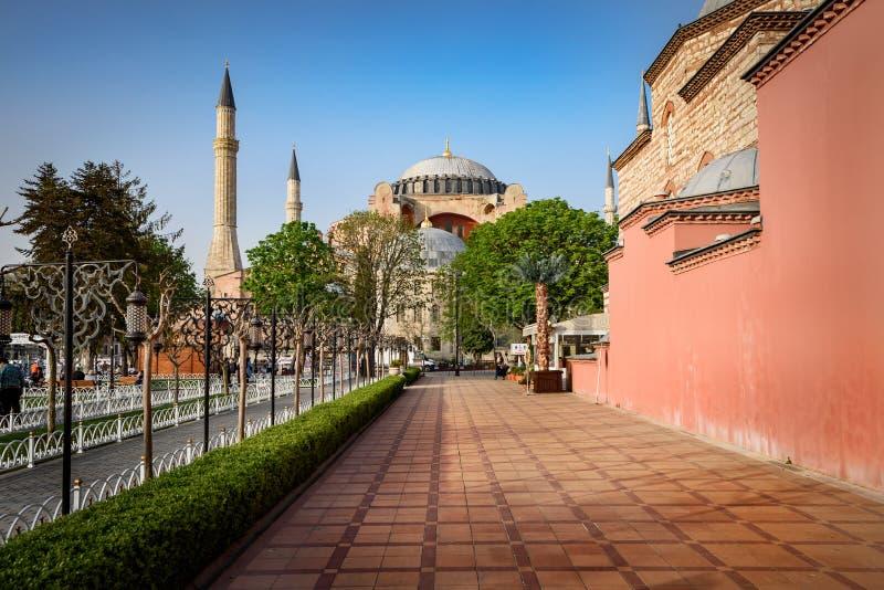Hagia Sophia Istanbul, Turquia imagens de stock royalty free