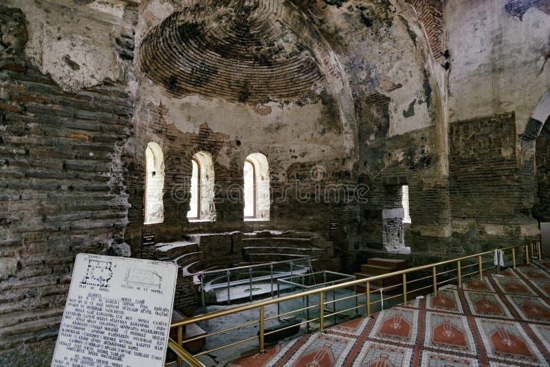 Hagia Sophia, Iznik stock afbeeldingen