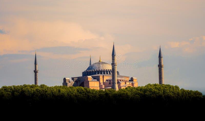 Hagia Sophia, le monument de renommée mondiale image libre de droits