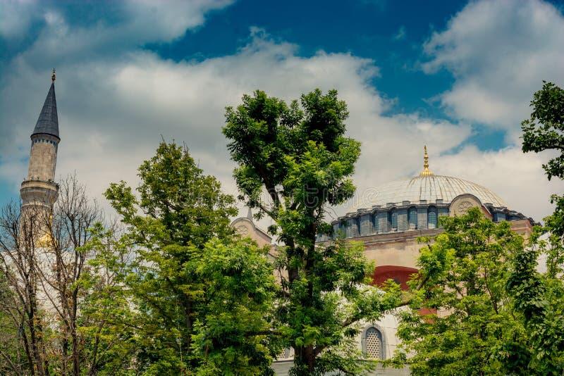 Hagia Sophia, le monument de renommée mondiale photo stock