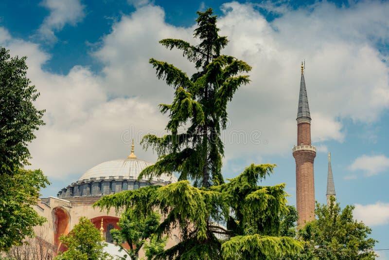 Hagia Sophia, le monument de renommée mondiale photo libre de droits