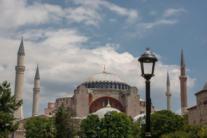 Hagia Sophia, le monument de renomm?e mondiale photo libre de droits