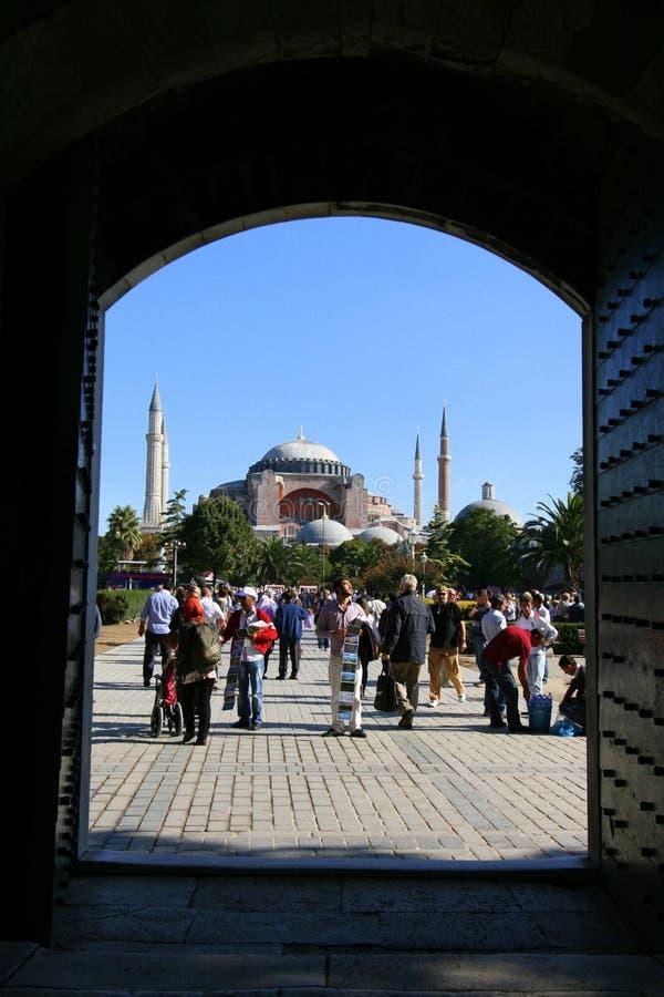 Hagia Sophia Moschee stockfotografie