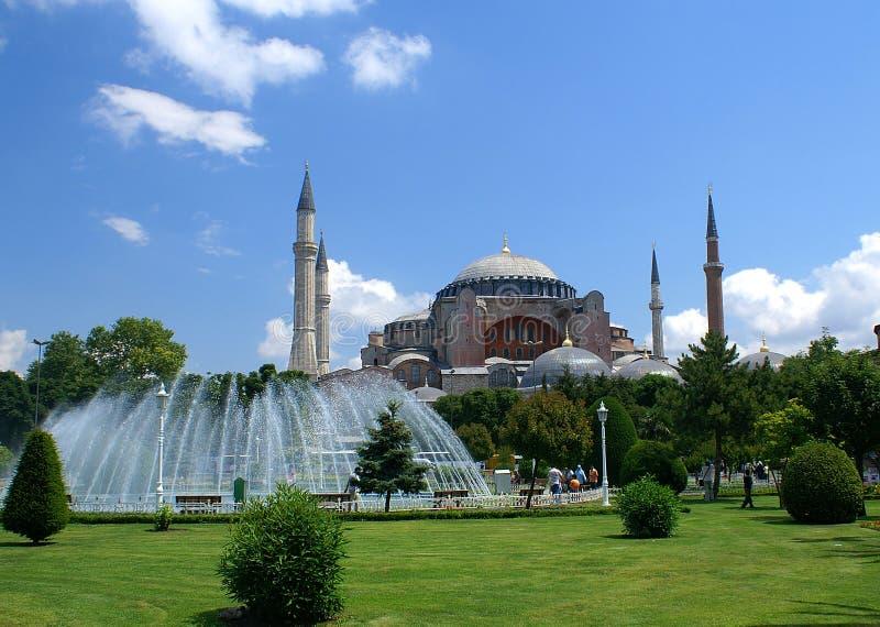 Hagia Sophia mosque stock photo