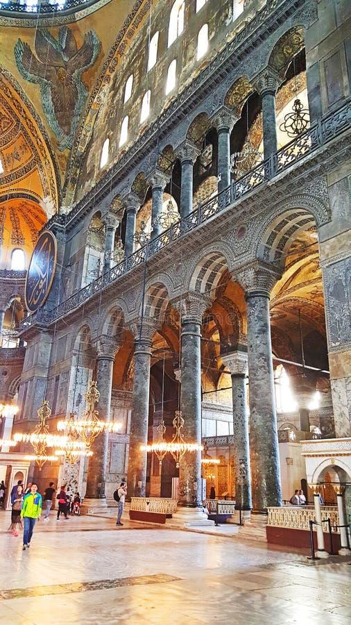 Hagia Sophia Mosque Istanbul Panoramic foto de archivo