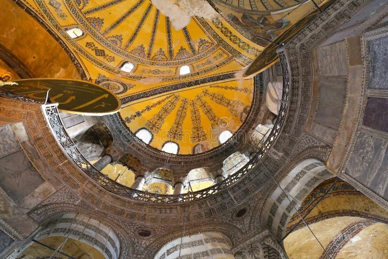 Hagia Sophia Museum in Istanbul, Turkey stock photography