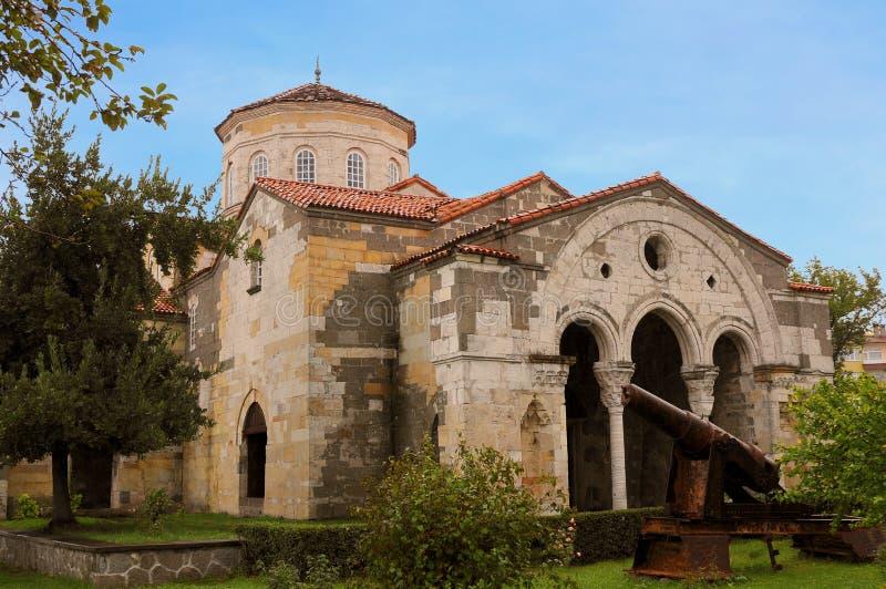 Hagia Sophia Museum Trabzon som är norr - östlig kalkon arkivfoto