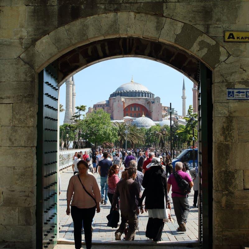Hagia Sophia Museum, Turchia fotografia stock