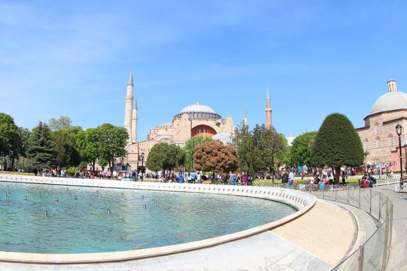 Hagia Sophia Museum, Turkey stock image