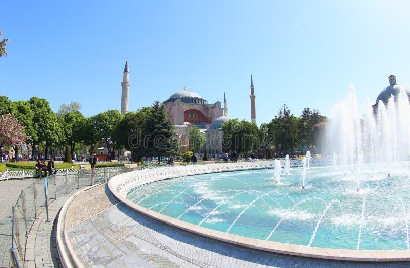 Hagia Sophia Museum, Turkey stock photo