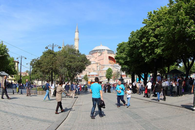 Hagia Sophia Museum, Turkey royalty free stock image