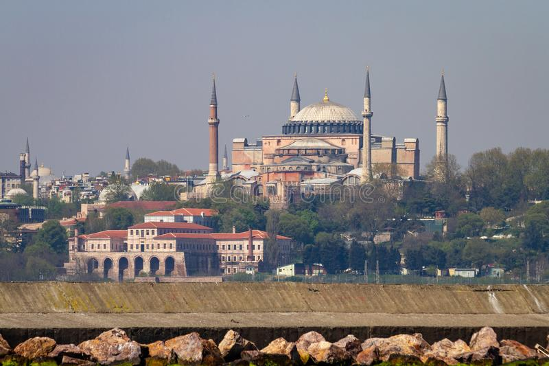 Hagia Sophia muzeum w Istanbuł, Turcja fotografia royalty free