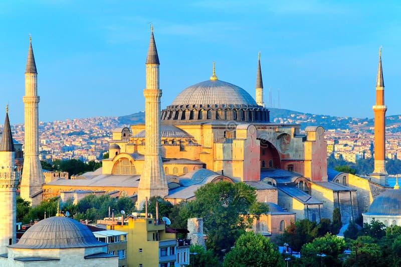 Hagia Sophia Overlooking Bosphorus stock fotografie