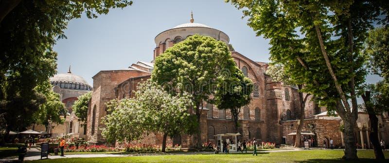 Hagia Sophia, più grande monumento di cultura bizantino Costantinopoli, Turchia fotografie stock