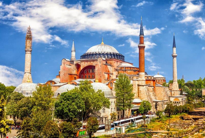 Hagia Sophia, precedente basilica patriarcale greco ortodossa immagini stock