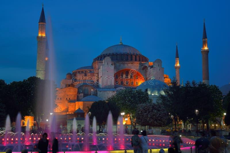 Hagia Sophia (también llamado Hagia Sofía o Ayasofya) fotos de archivo