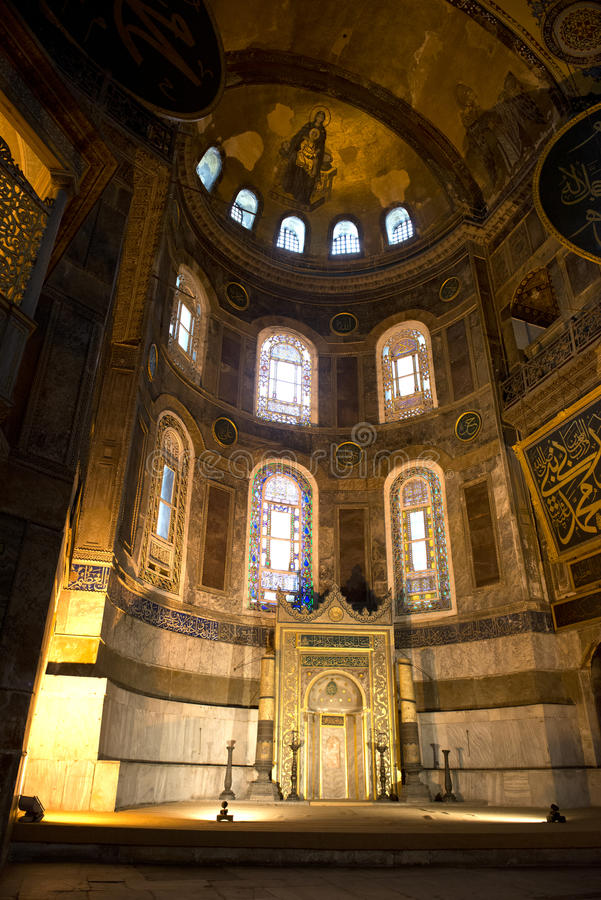 Hagia Sopia Church, Museum, Travel Istanbul Turkey Stock Photography
