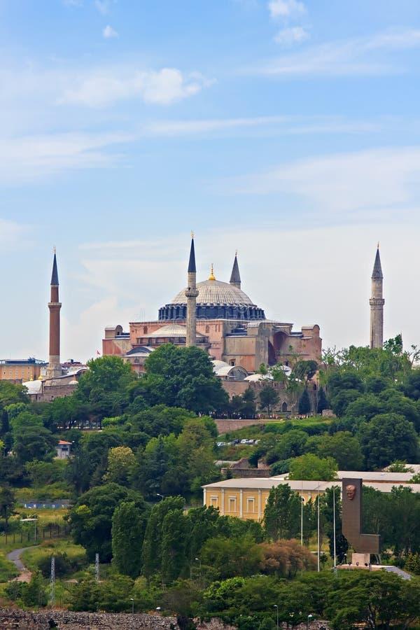 Hagia w Istanbuł Sophia zdjęcie stock