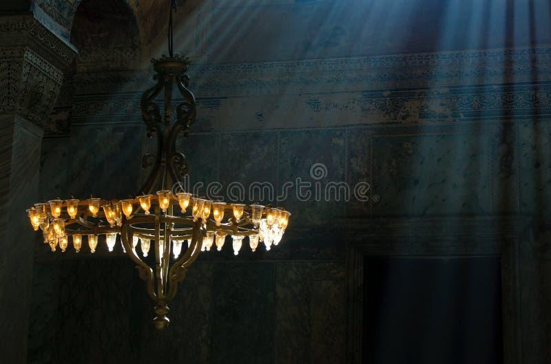 Hagia wnętrze Sophia, Istambul, Turcja zdjęcie royalty free