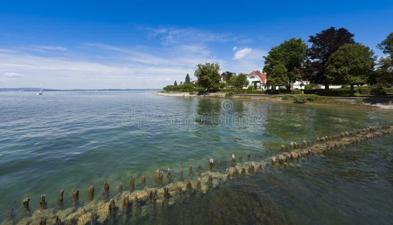 Hagnau - lago Constance, Baden-Wuerttemberg, Alemanha, Europa fotos de stock