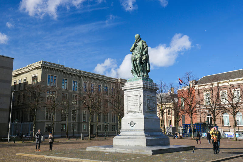 The Hague, the Netherlands - William of Orange stock photography