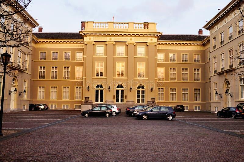 hague noordeinde pałac zdjęcia stock