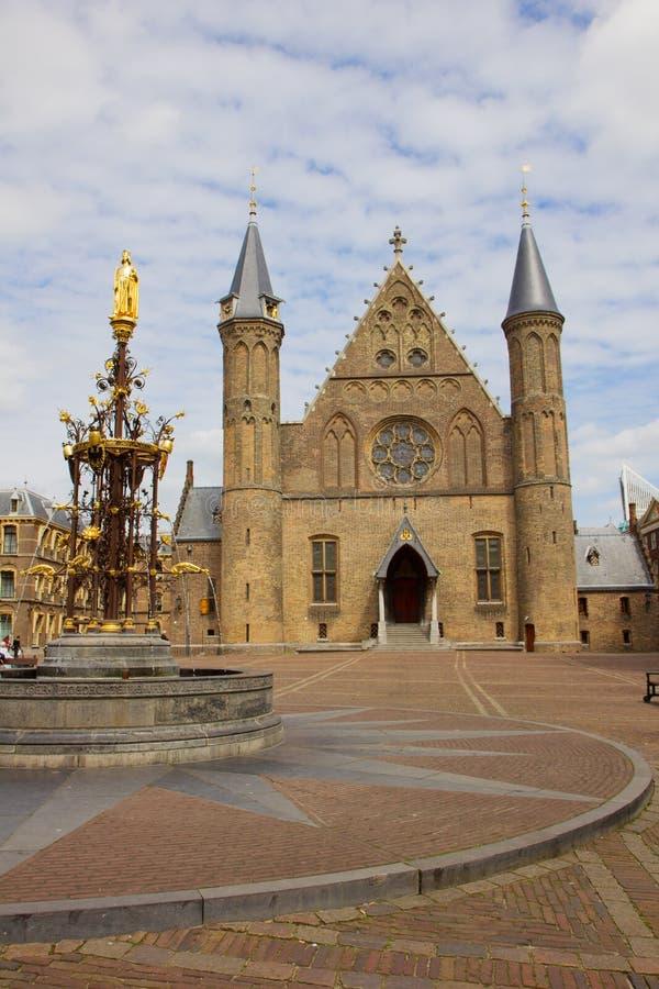 hague ridderzaal zdjęcie stock