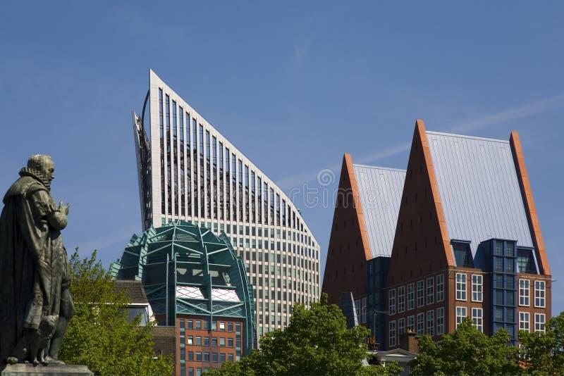 The Hague skyline 1 royalty free stock photos