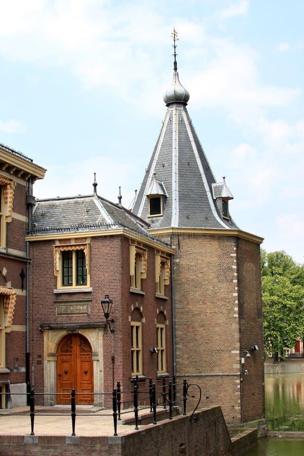 hague wejściowy wierza Holland trochę fotografia stock