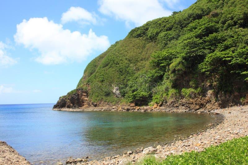 Hahajima-Insel stockbild