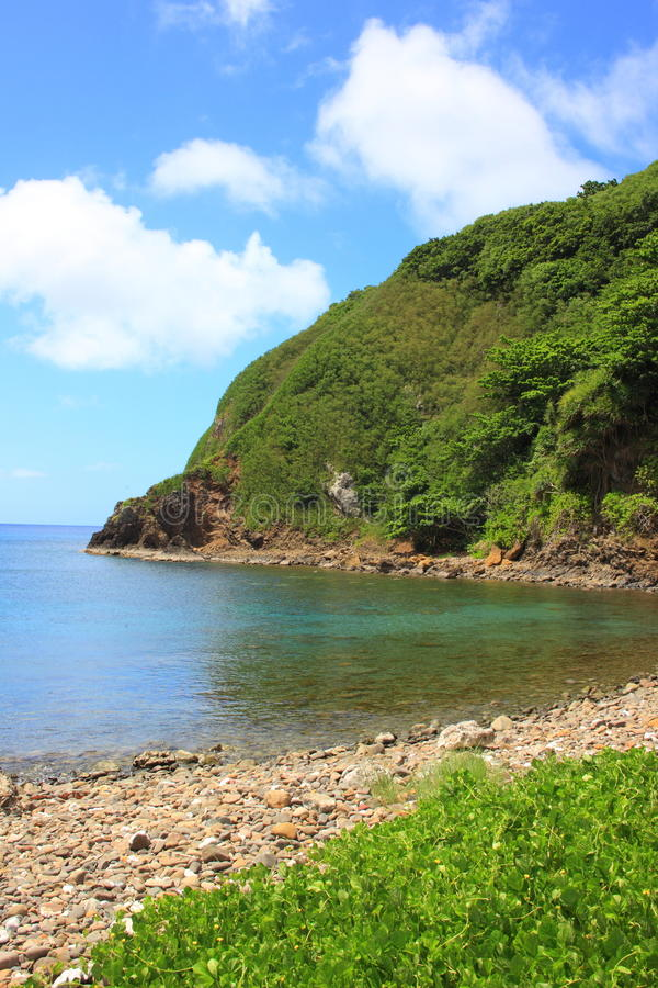 Hahajima Island. Ogasawara National park, Japan royalty free stock image