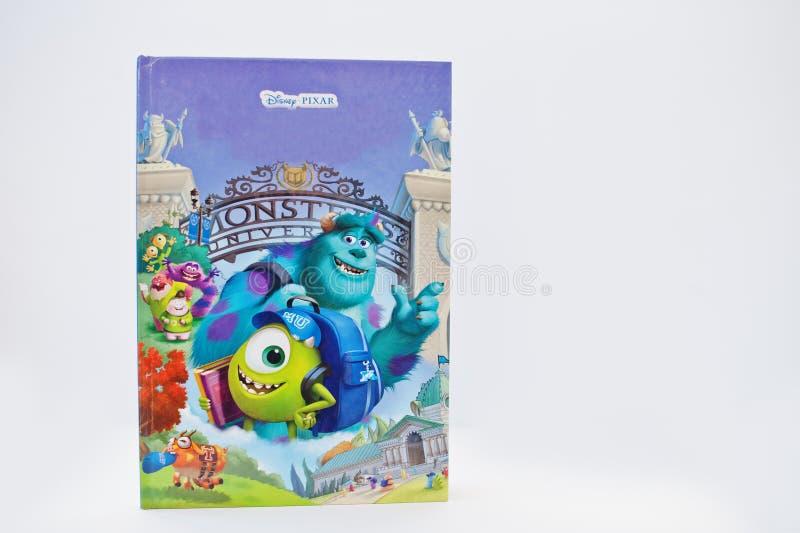 Hai, Украина - 28-ое февраля 2017: Оживленные кино c Дисней Pixar стоковое изображение rf