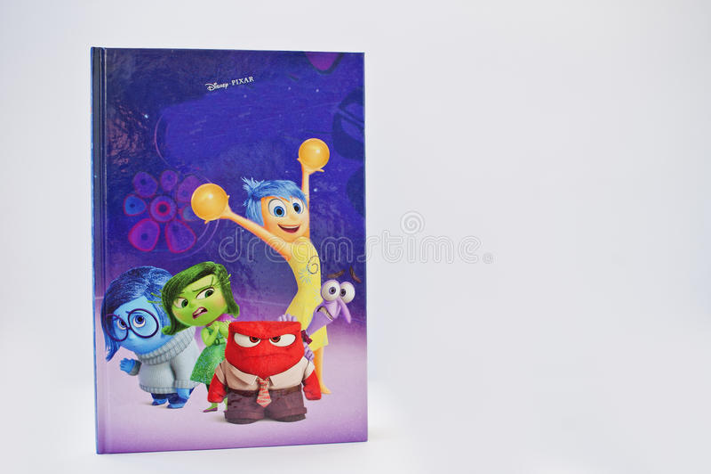 Hai Ukraina, Luty, - 28, 2017: Animowana Disney Pixar kreskówka obrazy stock