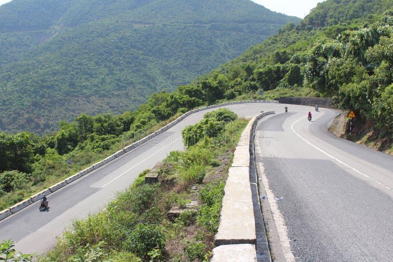 Hai Van Pass Vietnam arkivbild