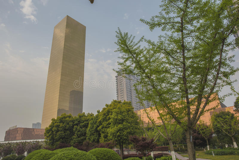 Haian Zhongyang hotell BRIC royaltyfri fotografi