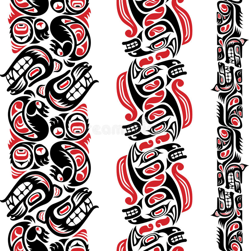 Free Haida Style Tattoo Pattern Stock Photo - 28131740