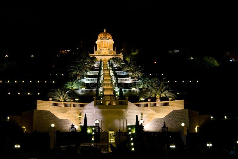 Haifa, Bahai stock foto