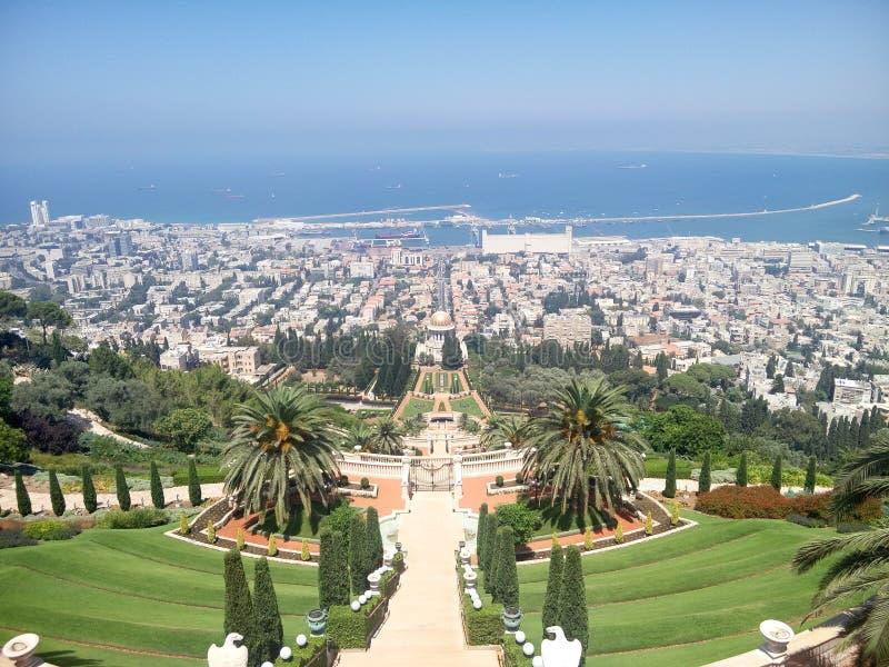 Haifa city royalty free stock images
