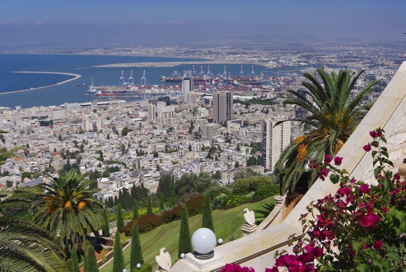 haifa israël stock fotografie