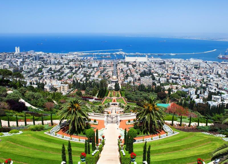 Haifa Israël royalty-vrije stock afbeeldingen