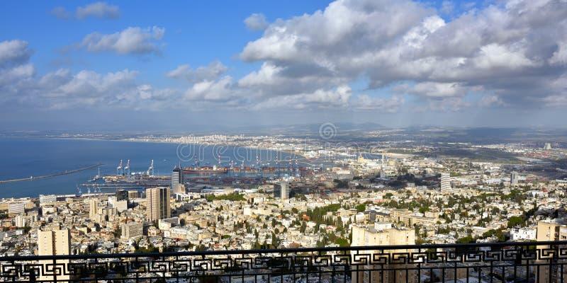 Download Haifa, Israël stock afbeelding. Afbeelding bestaande uit kust - 54080539