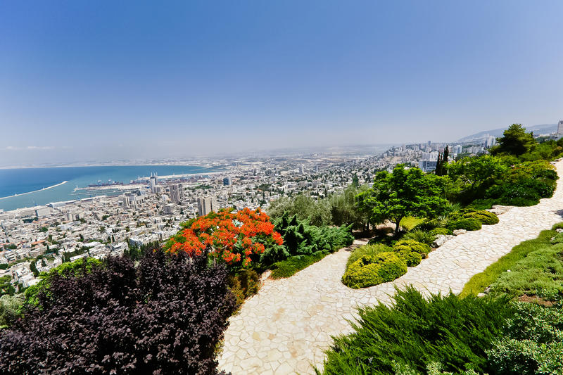 Download Haifa, Israel stock image. Image of water, cityspace - 18893795