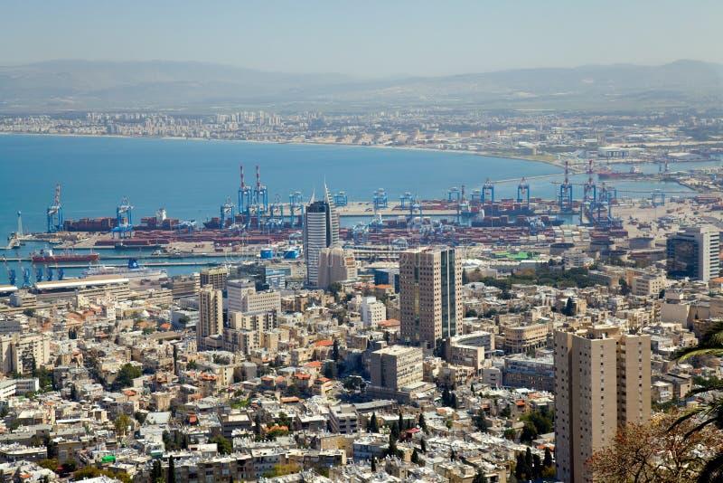 Haifa, Israel fotos de stock