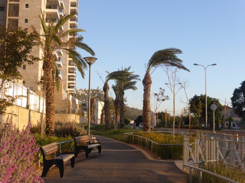 Haifa, Israel 2014 foto de archivo