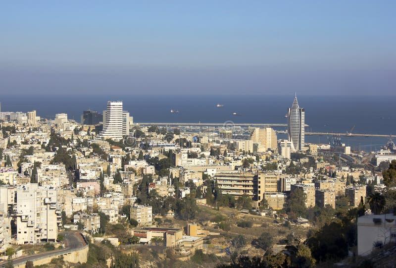 Haifa, Izrael zdjęcia royalty free