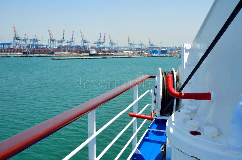 Download Haifa sea port stock photo. Image of mediterranean, horizon - 40113454