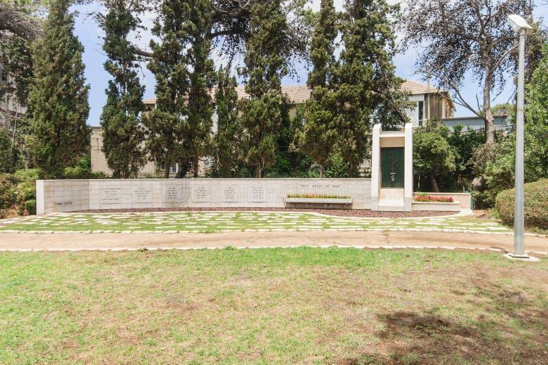 Haifa War Monument stock foto