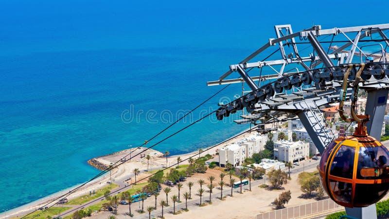 Haifa wybrzeże obrazy stock
