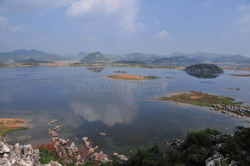Haifeng Wet Land Royalty Free Stock Photography